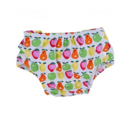 couche de piscine fruits