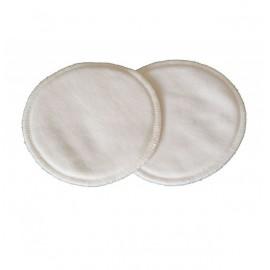 6 coussinets d'allaitement lavables coton Bio