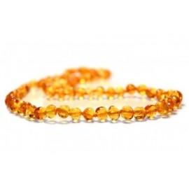 Collier en ambre adulte miel