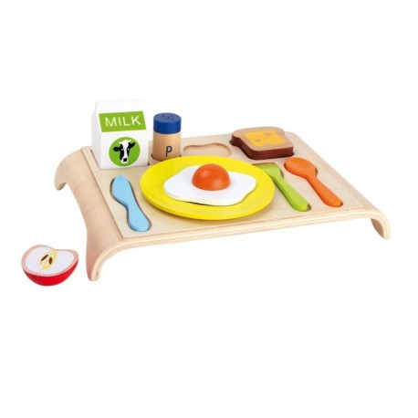 jouet plateau repas en bois pour enfant. Black Bedroom Furniture Sets. Home Design Ideas