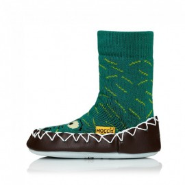 chaussons crocodiles moccis