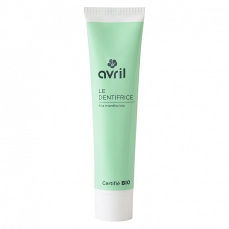 Dentifrice menthe bio 75 ml Avril