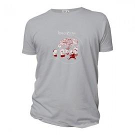 Tee-shirt coton bio Décroche Gris
