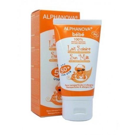 Lait solaire bébé Alphanova SPF 50+ (50 ml)