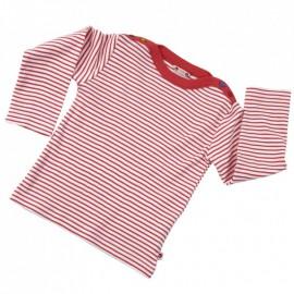 Tee-shirt coton bio Rayé 0-3 Mois