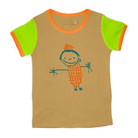 Tee-shirt coton bio Bonhomme