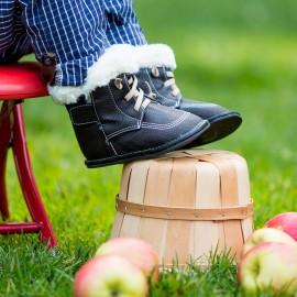 Boots souples cuir Jenson