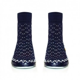 Chaussons Chaussettes Midnight Blues