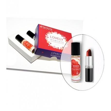Coffret Lovely Moments rouge a lèvres + fragrance