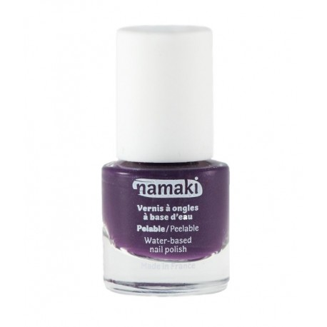Vernis à ongles pelable a base d'eau Prune N°13