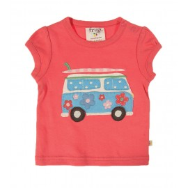 Tee-shirt coton bio Lovely 3-6 Mois