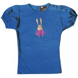 T-shirt coton bio Marvin Bleu