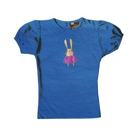 Tee-shirt coton bio Marvin Bleu