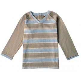 T-shirt coton bio Teddy Rayé