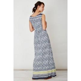 Robe longue bambou Mosacio Thought