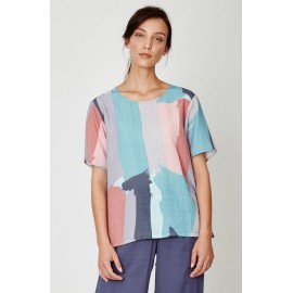 Top tencel Pintura