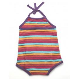 Body coton bio multicolore