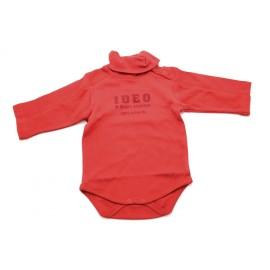 Body coton bio rouge Idéo