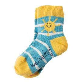 Lot 3 paires chaussettes coton bio Sunshine