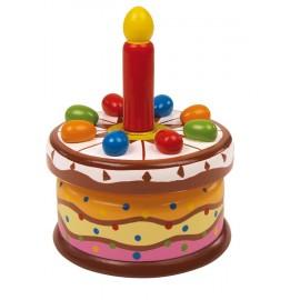Boite musique Gâteau d'anniversaire
