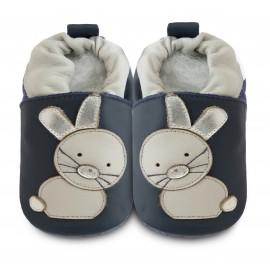 Chaussons souples cuir Rabbit Go Hop