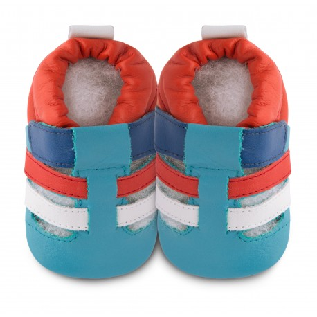 Chaussons souples cuir summer state