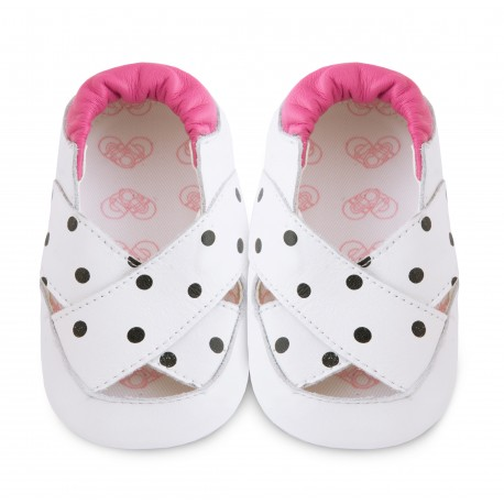Chaussons souples cuir juno