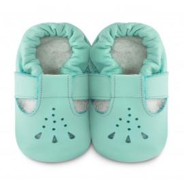 Sandales souples cuir Bubblegum