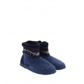 Chaussons laine Kristiansand jeans