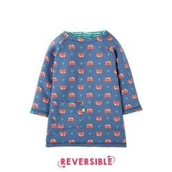 Robe coton bio Reversible Fox