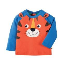Tee-shirt coton bio Tigre 3-6 Mois