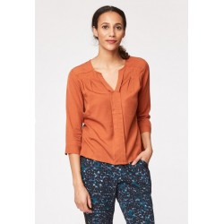 Chemisier tencel Victoria Orange