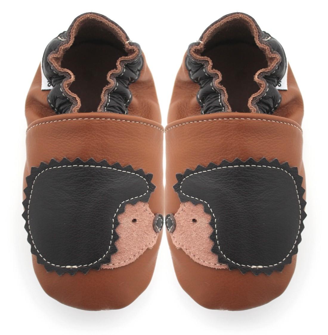 57061d5ae52ef Chaussons cuir souple enfants - Meli Melo bio