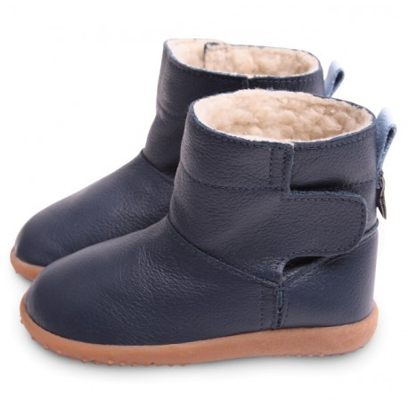bottines cuir fourrees decima