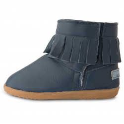 Bottines cuir souples fourrees Cape Royale