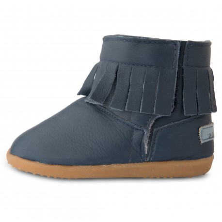 Bottines en cuir fourrées souples Cape Royale