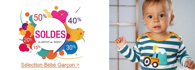 vêtements en coton bio bébé